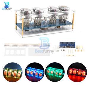 Retro Style DIY IN12 IN-12 Nixie Tube PCBA Kit Clock Circuit Board Kit No Tubes