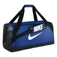 8f625e249909 Nike Brasilia 7 Game Royal Black Medium Duffel Bag (BA5334-480)
