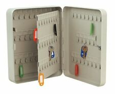 BRAND NEW! Key Cabinet SAFE Metal Cupboard 93  Key Tags Corrosion Resistance