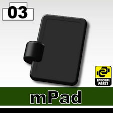 MPad (W160) Toy Tactical Computer Tablet compatible with toy brick minifigures