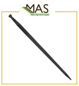 Bale Tine, Muck Fork, Bale Spike - 1100mm / M28 x 1.5mm