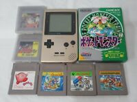 L192 Nintendo Gameboy Pocket Console Gold & game Japan GBC