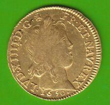GOLD Frankreich Louis d´or à la mèche longue 1650 X sehr selten nswleipzig