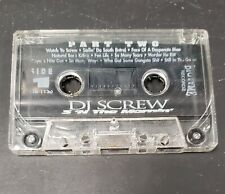 OG Press DJ Screw 3 N the Mornin Part Two RED Cassette RARE 1995 Bigtyme Recordz