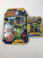 NEW Ready 2 Robot series 1 Pilots & Slime Weapons Series 1.1 Mystery Blaster
