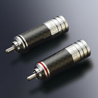 4Pcs Rhodium Plated Audio RCA Interconnect hifi plug RCA PLUG