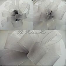 Sheer/Chiffon/Organza Ribbon-Woven Ribbon-9MM/15MM/25MM-3/2 Metres