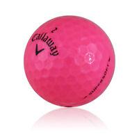 120 Callaway Supersoft Pink Mint Used Golf Balls AAAAA