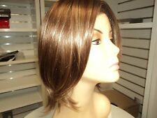 JON RENAU KRISTEN Short Lace Front Wig Salted Caramel, Rooted Brown, Bob