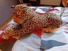 Grande peluche tigre tacheté