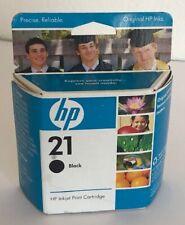HP 21 Black Inkjet Print Cartridge - Exp 06/2009