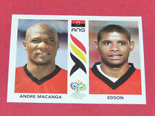 306 MACANGA EDSON ANGOLA PANINI FOOTBALL GERMANY 2006 WM FIFA WORLD CUP