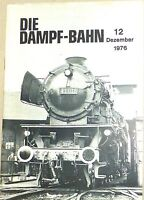 La Dampf-Bahn 12 Décembre 1976 @27@ Å √