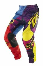 Brand New Fox Racing 180 Radeon Pants Adult Size 28 - Purple / Yellow / Red