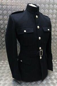 Genuine British Royal Marines No1 Dress RM Jacket & Cloth Belt 188/116/100cm