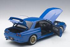 Autoart NISSAN SKYLINE GT-R R32 V-SPEC II TUNED VERSION BLUE LE 1500 1/18 In Stk