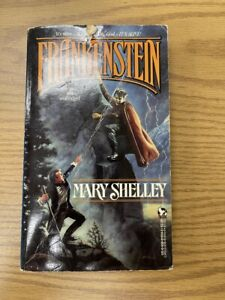 FRANKENSTEIN by Mary Shelley (1988) Aerie paperback