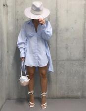 Zara 100% Cotton Oversized Poplin Shirt + CropTop.  Size L