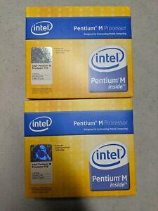 Lot of (2) Brand new sealed Intel Pentium M Processor 740