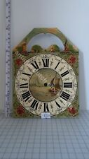 REPLACEMENT HAND PAINTED DIAL FRIESIAN TAIL CLOCK SUITABLE FOR UW OR URGOS CL...