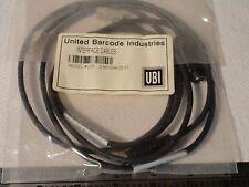 "UBI 0-601044-00-0 Interface Wedge I-O Cable Set 12"" PC PS2 (Mini Din) Keyboard"