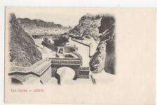 The Tanks Aden Vintage U/B Postcard  209a