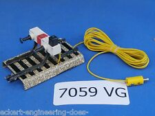 "EE 7059 VG Marklin HO Model Track Lighted Stop Block ""M"" Track"