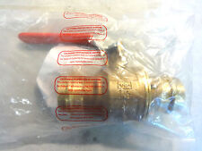 New Rwv Red-White Fig 5020 Size 1-1/2 Ezpress 600Wog Full Port Sweat Ball Valve
