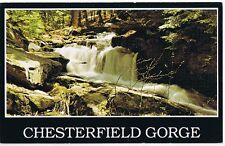CHESTERFIELD GORGE - NEW HAMPSHIRE - POSTCARD UNUSED  #N 4-913