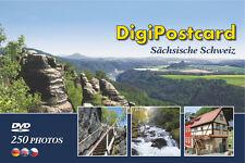 """DigiPostcard """"Sächsische Schweiz""""- Ansichtskarte mit DVD als Reiseführer"""