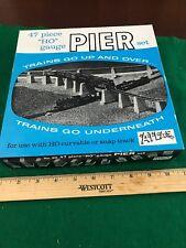 HO Scale Atlas Pier Set Great Condition (HO12725)