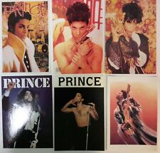 Prince, 6 Different Vintage Postcards. FREE INT.SHIPPING