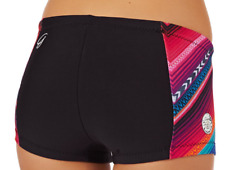 New Women's RIP CURL Black Wetty G Bomb 1mm Boyleg Neoprene Wetsuit Shorts - 6
