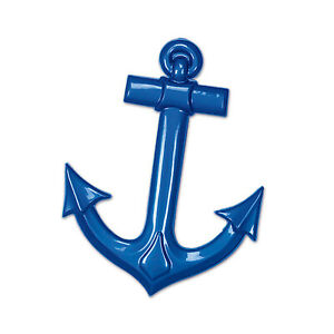 The Beistle Company Plastic Ship's Anchor (Pack of 24)