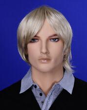 JI DISPLAY Männer Perücke Wig JM-W02 für Mann Mannequin Schaufensterpuppe