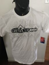 Adult Large Football Cfl Reebok T-Shirt Grey Cup 100 New With Tags Nwt