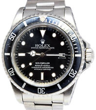 Rolex Sea-Dweller Steel Mens Dive Watch 40mm 1984 16660
