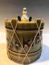 Vintage Snare Drum w/String w/Drum Corp/Toy Soldier Cookie Jar by Royal Sealy