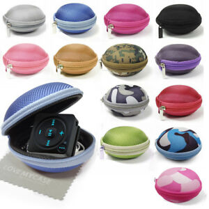 Fabric MP3 Player, Earphone Clamshell Case, Gym Case For Spotify Music Player