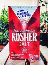 Diamond Crystal Pure Natural KOSHER Salt 3 Lbs