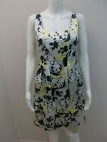 VERONIKA MAINE EXPOSED ZIP, PRINT OCCASIONS DRESS WITH POCKETS SIZE 6 (#W1519)