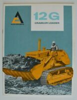 ALLIS-CHALMERS 12G Crawler Loader 1967 dealer brochure - English - Canada