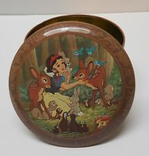 Walt Disney Snow White and the Seven Dwarfs Tin Daher Vintage