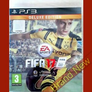 FIFA 17 DELUXE EDITION - PlayStation 3 PS3 ~ Brand New & Sealed!
