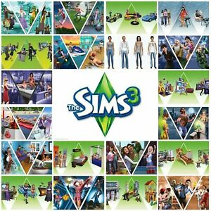 **The Sims 3 + All Expansions Packs – Full Collections Full game***
