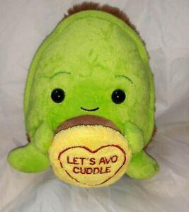 *Used soft toy Love Hearts Avocardo Swizzles plush 6 inch*
