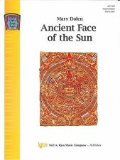 Ancient Face of the Sun Intermediate Piano Solo Sheet Music By Mary Dolen