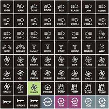 MoTeC Individual Keypad Label