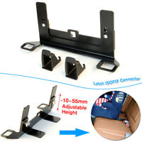 Universal Adjustable ISOFIX Latch Seatbelt Connector Interface Guide Bracket Car