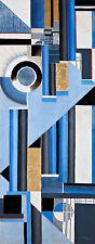 Deska 0 Composition 0 by Karol Hiller A1 High Quality Canvas Art Print